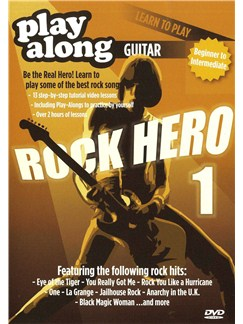 Play Along: Learn To Play - Rock Hero 1 DVDs / Videos | Guitar