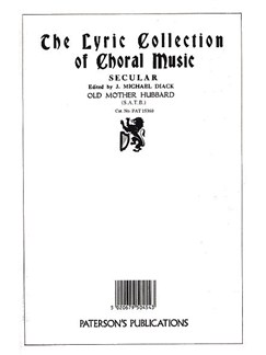 J. Michael Diack/Hely-Hutchinson: Old Mother Hubbard (SATB) Books | Soprano, Alto, Tenor, Bass, Piano