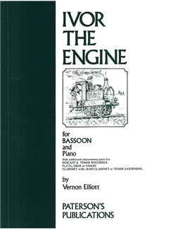 Vernon Elliott: Ivor The Engine For Bassoon And Piano Books | Bassoon, Piano Accompaniment