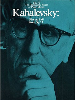 Dmitri Kabalevsky: Playing Ball From Op.27 (No.72) Books | Piano