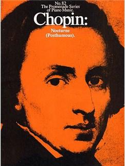 Chopin: Nocturne (Posthumous)(No.82) Books | Piano