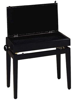 Stagg: PB55 BKP Adjustable Height Piano Bench  | Piano, Digital Piano