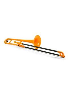 pBone Plastic Trombone - Orange Instruments | Trombone