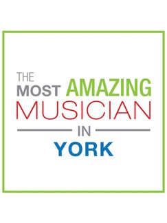 The Most Amazing Musician In York: Classic - Greeting Card  |