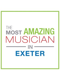The Most Amazing Musician In Exeter: Classic - Greeting Card  |