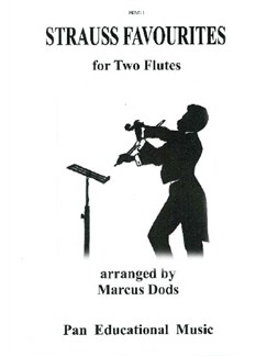 Strauss Favourites For Two Flutes Books | Flute (Duet)