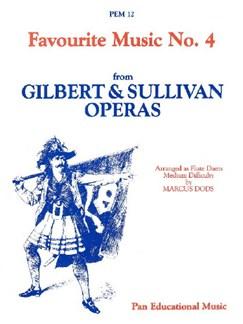 Favourite Music: Gilbert & Sullivan (Flute Duet) Books | Flute