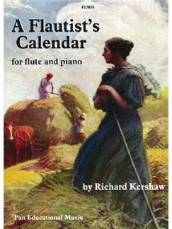 Richard Kershaw: A Flautist's Calendar Books | Flute, Piano Accompaniment