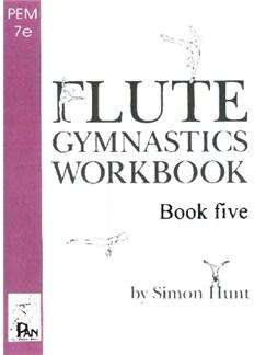 Flute Gymnastics Workbook 5 Books | Flute