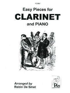 Easy Pieces for Clarinet & Piano Books | Clarinet, Piano Accompaniment