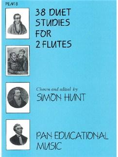 Thirty Eight Duet Studies Books | Flute (Duet)
