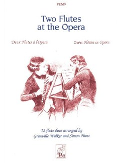 Two Flutes At The Opera Books | Flute (Duet)
