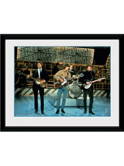 Framed Collector Print: The Beatles - Thank Your Lucky Stars  |