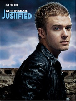 Justin Timberlake: Justified Books | Piano, Voice and Guitar