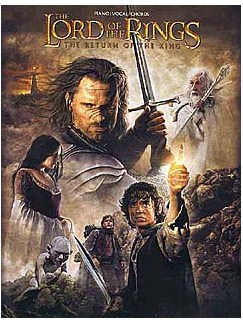 The Lord Of The Rings: The Return Of The King Books | Piano, Vocal & Guitar