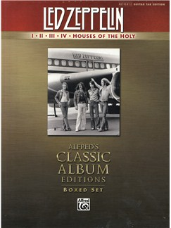 Led Zeppelin: Albums I-V Box (TAB) Books | Guitar Tab, Lyrics