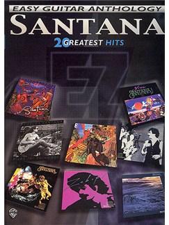 Santana: Easy Guitar Anthology - Twenty Greatest Hits Books | Electric Guitar