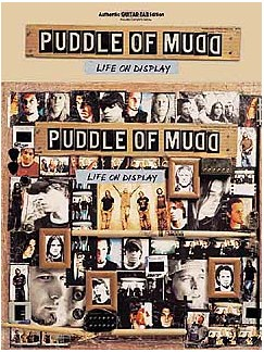 Puddle Of Mudd: Life On Display Books | Guitar Tab (with Chord Boxes)