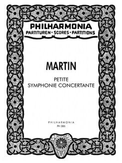 Frank Martin: Petite Symphonie Concertante Books | Harp, Harpsichord, Piano, String Orchestra
