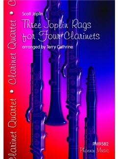 Scott Joplin: Three Joplin Rags - Clarinet Quartet Books | Clarinet (Quartet)