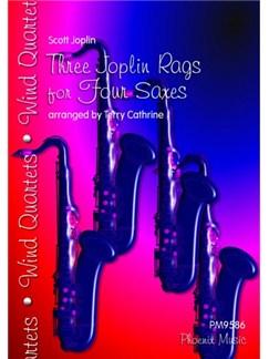 Scott Joplin: Three Joplin Rags - Saxophone Quartet (AATT) Books | Saxophone (Quartet)