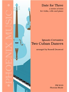Ignazio Cervantes:Two Cuban Dances (Violin, Cello And Piano) Books | Violin, Cello, Piano
