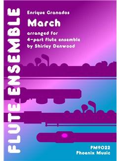 Enrique Granados: March (Flute Ensemble) Books |