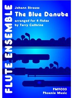 Johann Strauss: The Blue Danube (4-Part Flute Ensemble) Books | Flute (Quartet)