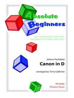 Johann Pachelbel: Canon In D (Flexible Ensemble) Books | Ensemble