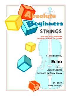 Pyotr Ilyich Tchaikovsky: Echo (Italian Caprice) (String Ensemble) Books | String Ensemble