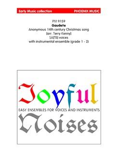 Gaudete (Ensemble And Voices) Books | Ensemble, Voice