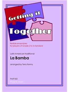 Getting It Together: La Bamba (Ensemble) Books | Ensemble