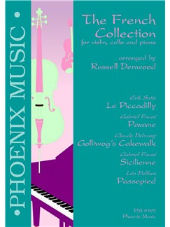 The French Collection (Violin, Cello And Piano) Books | Violin, Cello, Piano Accompaniment