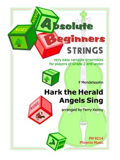 Felix Mendelssohn:  Hark The Herald Angels Sing (String Ensemble) Books | String Ensemble