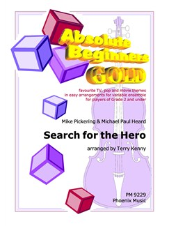 Mike Pickering: Search For The Hero Inside Yourself (String Ensemble) Books | String Ensemble