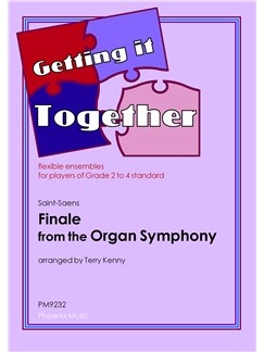 Camille Saint-Saens: Finale - Organ Symphony (Flexible Ensemble) Books | Flexible Ensemble