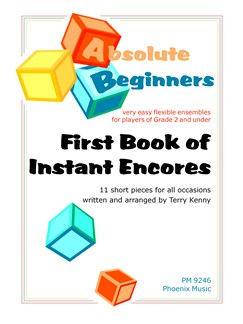 First Book Of Instant Encores Books | Ensemble