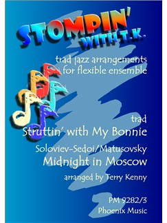 Vassili Soloviev: Struttin' With My Bonnie And Midnight In Moscow (Ensemble) Books | Ensemble