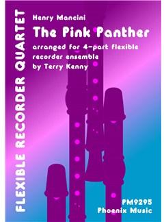 Henry Mancini: The Pink Panther (Recorder Quartet) Books | Recorder (Quartet)