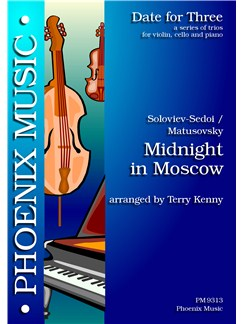 Vassili Soloviev: Midnight In Moscow (Violin, Cello And Piano) Books | Violin, Cello, Piano Accompaniment