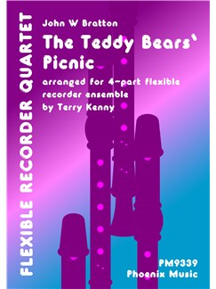 John Bratton: The Teddy Bears' Picnic (Recorder Quartet) Books | Recorder (Quartet)