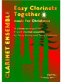 Easy Clarinets Together - Christmas Books | Clarinet (Quartet)