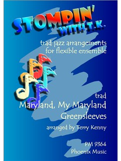 Maryland, My Maryland And Greensleeves (Ensemble) Books | Ensemble