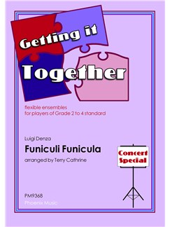 Luigi Denza: Funiculi Funicula (Ensemble) Books | Flexible Ensemble