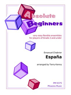Emmanuel Chabrier: Espana (Ensemble) Books | Ensemble
