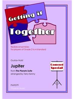 Gustav Holst: Jupiter (The Planets) (Ensemble) Books | Ensemble