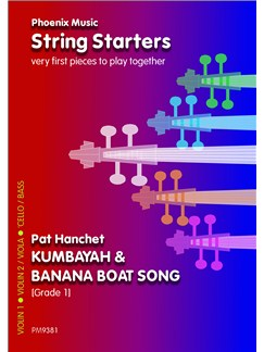 Kumbayah And Banana Boat Song (Beginner Strings) Books | String Ensemble