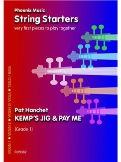Pay Me And Kemp's Jig (Beginner Strings) Books | String Ensemble