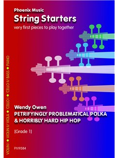 Wendy Owen: Petrifyingly Problematical Polka And Horribly Hard Hip-Hop Books | String Ensemble