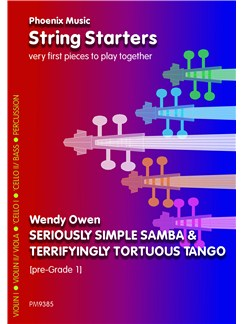 Wendy Owen: Seriously Simple Samba And Terrifyingly Tortuous Tango (String Ensemble) Books | String Ensemble